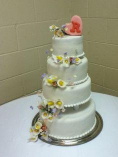 mom's calla lily cake