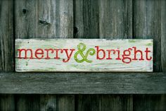 Merry & Bright - by little branches