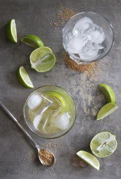 Caipirinhas - Lime, Raw Sugar, Cachaça.