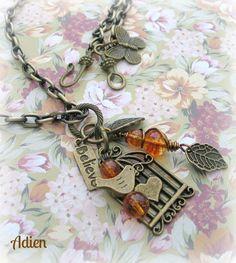 Autumn Charm Necklace £9.95