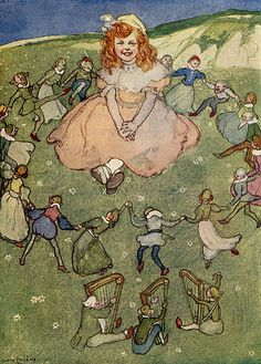 A Treasury of Verse for Little Children / Willy Pogany   Flickr - Photo Sharing!