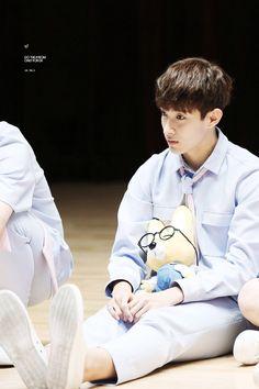 Seokmin holding fox wonwoo I can't im