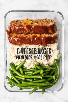 This Cheeseburger Meatloaf Meal Prep is an easy American classic meal that you'll look forward to each day. Toss the TV dinners and make your own! Make when you meal prep for the week to enjoy as a healthy lunch or dinner. Meal Prep Bowls, Easy Meal Prep, Easy Meals, Meal Prep For The Week Low Carb, Meal Prep For The Week For Beginners, Sunday Meal Prep, Kids Meals, Cheese Burger, Lunch Recipes