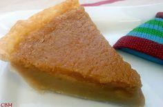 Dans la cuisine de Blanc-manger: Tarte au sucre du Bistro (J.-F. Plante) Icebox Pie, French Food, Cornbread, Feta, Crisp, Deserts, Dessert Recipes, Food And Drink, Sweets