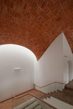 dome ceramic brick vault ladrillo boveda tabicada timbrel  work: town hall…