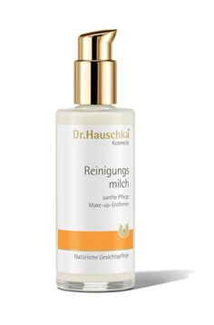 Cleansing Milk. It gently removes dirt and make-up prior to cleansing with Cleansing Cream.