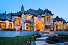 Berkshire Residence - mediterranean - exterior - salt lake city - Inouye Design