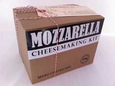 Make Cheese Inc - Let's Make Cheese in Your Own Kitchen by Ella, via Kickstarter.