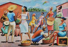 A Feira (1990) - Hector Caybé