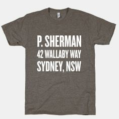 P. Sherman 42 Wallaby Way Sydney | HUMAN | T-Shirts, Tanks, Sweatshirts and Hoodies
