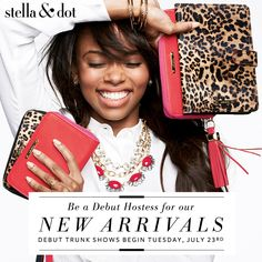 Stella & Dot Fall Collection is almost here! Be a debut hostess ~ www.stelladot.com/stephaniebradley