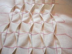 How To Make Wave Tucks - from Sew 4 Home
