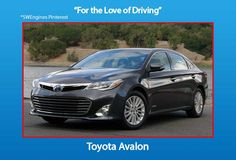 Engine and transmission world reviews - The current Avalon comes with a smooth 3.5L V6 engine packing 268 HP of stout performance combined with notable fuel efficiency.