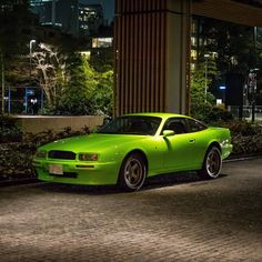 Aston Martin Virage Aston Martin Virage, Car Colors, Le Mans, Sport Cars, Automobile, Green Cars, Wheels, Colour, Inspiration
