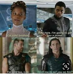 While there have been plenty of unforgettable sibling relationships in movies and television, few have been as compelling and fun as Thor and Loki in the string of Thor and Avengers movies over the last seven years.Read This Top 22 Loki Memes Marvel Loki Meme, Avengers Humor, Marvel Jokes, Funny Marvel Memes, Dc Memes, Loki Thor, Memes Humor, Loki Funny, Loki Laufeyson