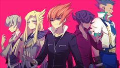 Yugioh Zexal Fan Art The Five Barian  Emperorss