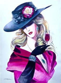 Red Wine ~ by Erik Freyman