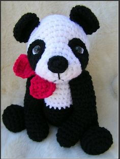 Un petit panda au crochet