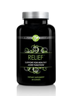 Tired of aches and pains in your joints? Relief promotes healthy, flexible joints with its highly effective Glucosamine and Chondroitin Sulfate Formula.  Promotes healthy, flexible joints Addresses all aspects of joint function Glucosamine & chondroitin sulfate formula Strengthens cartilage in the joints  Loyal Customer Price: $29