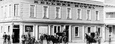 As the Hotel originally was - Kellers - long before it became Stumpers Backpackers hokitika