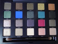 Urban Decay Vice Palette Swatches and Video Review