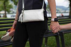 minibag the crossbodywallet Clutch, Mini Bag, Messenger Bag, Satchel, Metallic, Bling, Silver, Bags, Handbags