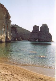 Milos Island, need to hop here Beautiful Islands, Beautiful Places, Places To Travel, Places To See, Kos, Greece Islands, Greece Travel, Beautiful Landscapes, Wonders Of The World