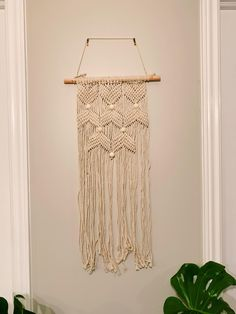 Macrame Wall Hanging Small - x Dream Catcher, Macrame, Wall, Etsy, Home Decor, Dreamcatchers, Decoration Home, Room Decor, Walls