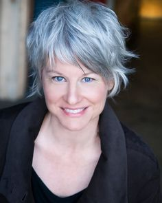 Lauren Lane. One of my favourite actresses. She looks fabulous with the grey hair, and I love the style! I wish mine would go more silvery like this. Ms Lane really needs to be gracing our televisions again! And, lord-willing, I will get the chance to see her on stage... one day.