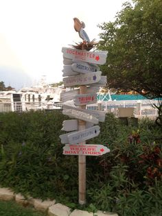 Where to go? Marina Square - downtown Fort Pierce, FL - photo by Marcy Brennan