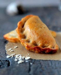 This sweet corn calzone is filled with potatoes, corn, spinach, onions and spicy peppers.