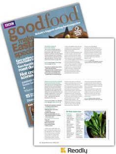 Suggestion about BBC Good Food April 2017 page 62