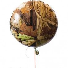 Camouflage Mylar Party Balloon $2.99