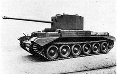 Picture of the Cruiser Tank Mk VIII Challenger (A30)