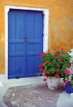 Oia on the island of Santorini, Greece