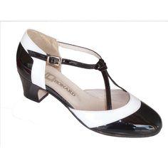 chaussure de balboa lindy hop vintage