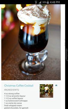 Christmas Coffee Cocktail