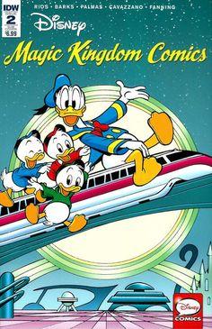 Cover for Disney Magic Kingdom Comics (IDW, 2016 series) #2 [Regular Cover]