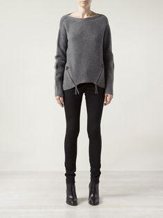 L.A.M.B. - zip front sweater 7