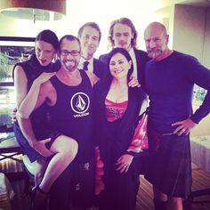 Caitriona, Tobias, Sam, Graham, Diana