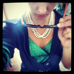 #me #picoftheday #color #green #summer #pearl