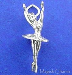 elp2574 925 Sterling Silver GINGERBREAD MAN Christmas Cookie Charm Miniature