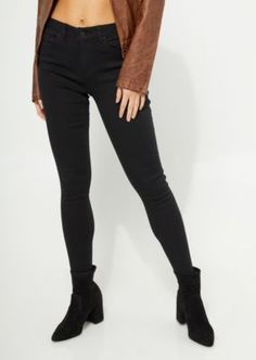 ae492ddb6bc These jeggings are outfitted with an extra high-waisted fit in a soft twill  material