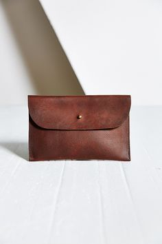 Forestbound Elliot Leather Clutch - Urban Outfitters