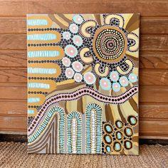 Aboriginal Dot Painting, Dot Art Painting, Encaustic Painting, Indigenous Australian Art, Indigenous Art, Yellena James, Haida Art, Bright Art, Spirited Art