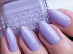 Essie:  Groom Service  ... a lavender creme nail polish that is inviting and elegant, romantic and applies smooth-like buttah!  From the Essie Bridal Collection 2016.