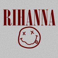 Rihanna. Part of the mash-up collection, this tee Smells Like Diamonds... Literally!