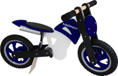 Kiddimoto Scrambler Balance Bike - This balance bike is the perfect learner bike for children to develop balance and coordination on two wheels, without training wheels!