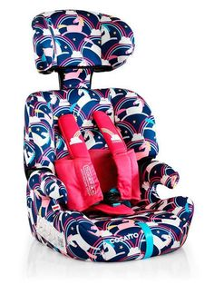 Cosatto Zoomi Group 123 Car Seat - Magic Unicorns, One Colour - One Colour - Escape Car, Forward Facing Car Seat, Baby Dolls For Kids, Toddler Girls, Custom Car Seats, Points Plus, Reborn Babies, Baby Car Seats, Baby Gifts
