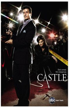 Castle Armed and Dangerous TV Show Poster 11x17